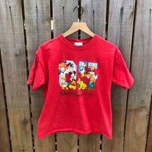Vintage Disney Women's 25th Anniversary Shirt